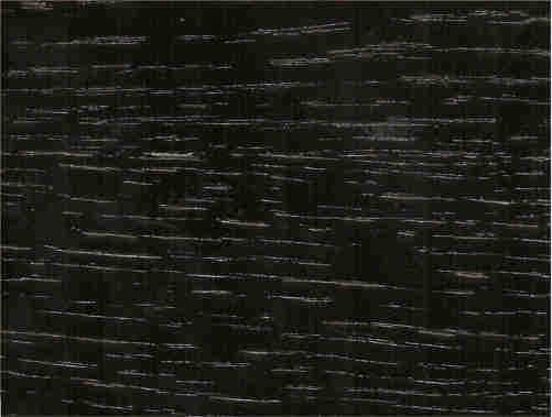 Wengue + lacado branco brilho