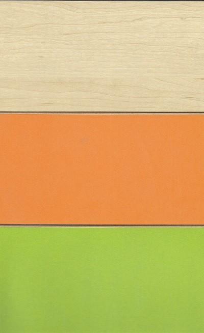 K Maple/Laranja/Verde